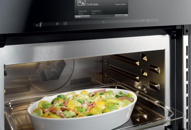 Miele H6670bmss 30 Quot Speed Oven Sensortronic Controls