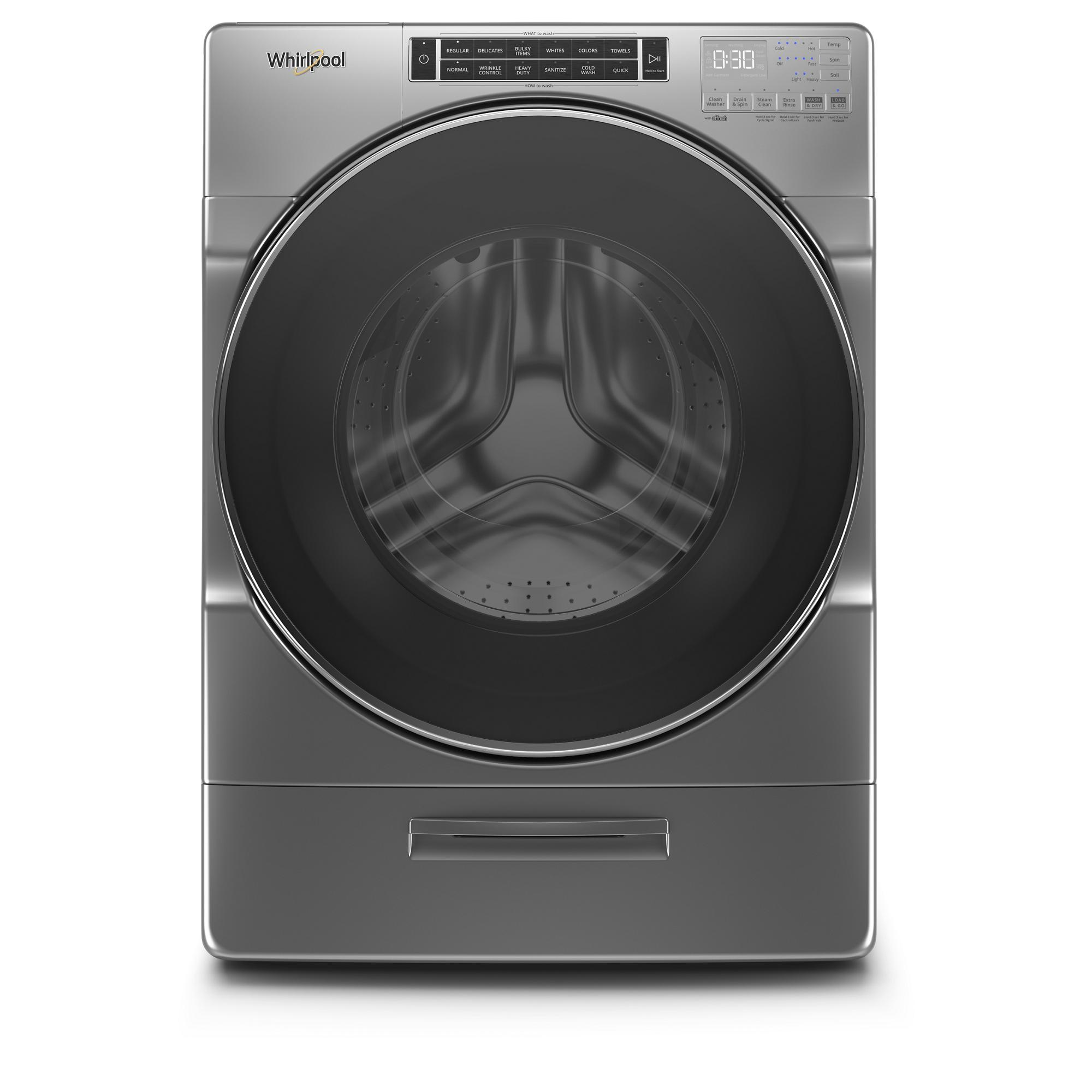 Wfw862chc Whirlpool Wfw862chc Front Load Tumble