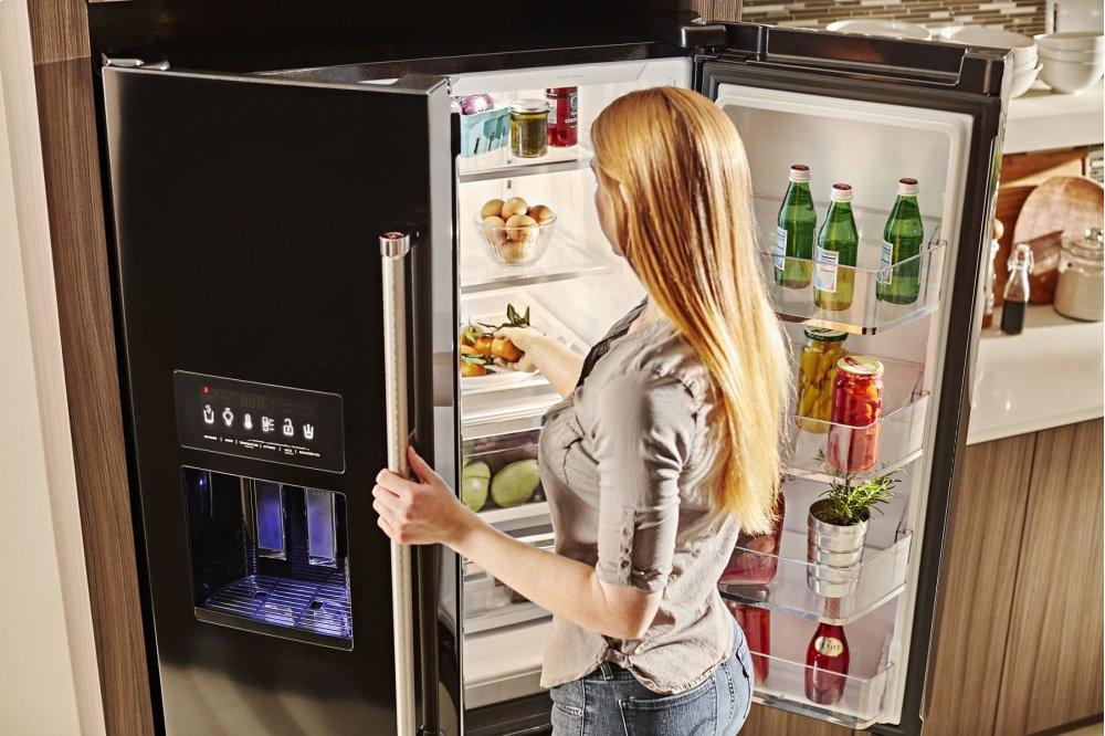 Kitchenaid Krff507hps 26 8 Cu Ft 36 Inch Width Standard