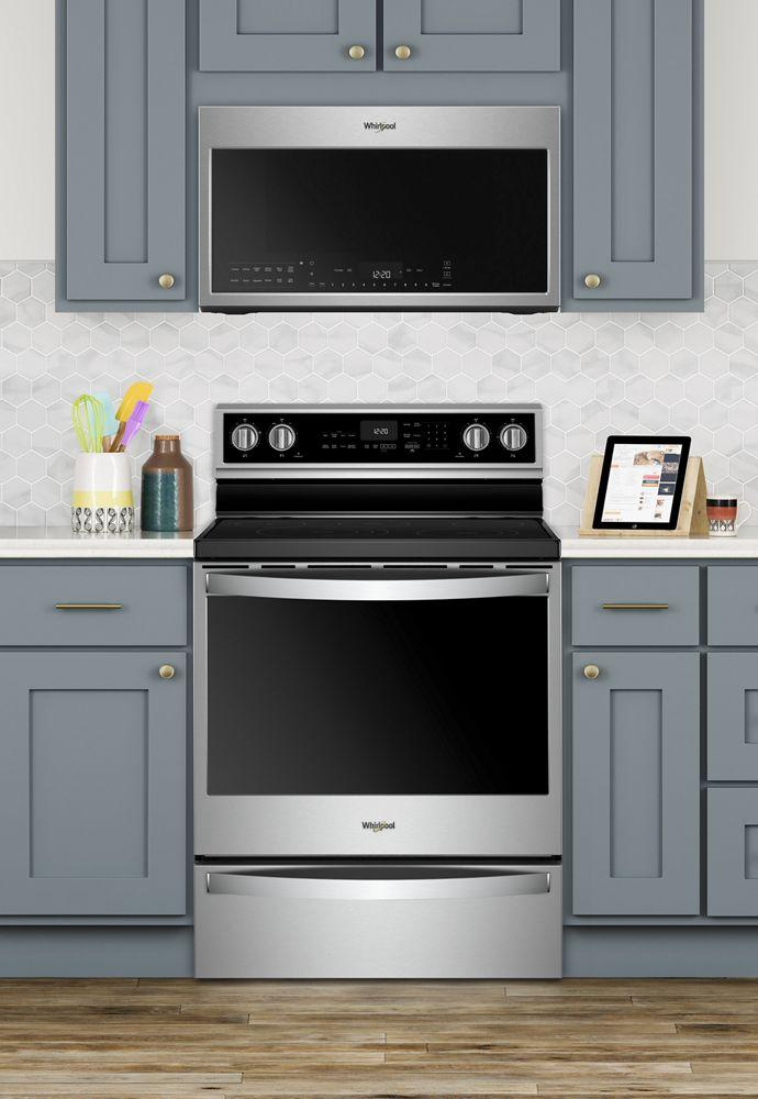 Whirlpool Wmh78019hz 30 Inch Smart Over The Range