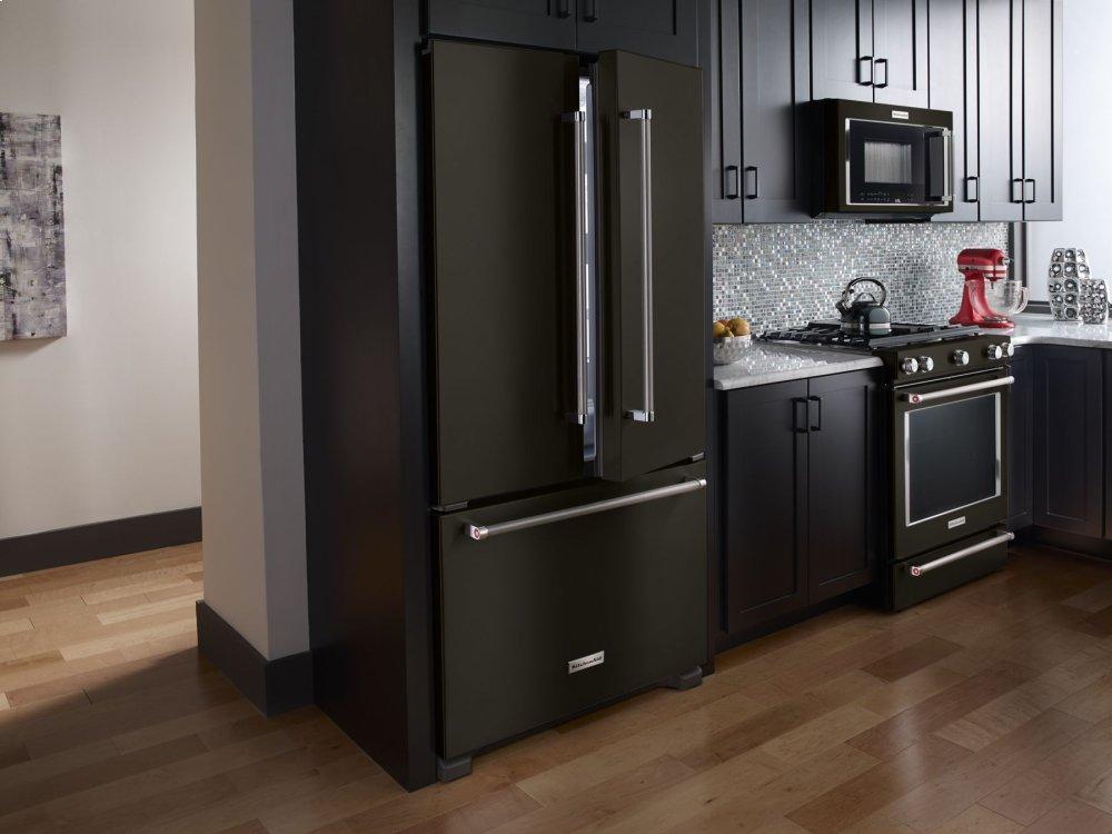 Kitchenaid Krfc302ebs 22 Cu Ft 36 Inch Width Counter