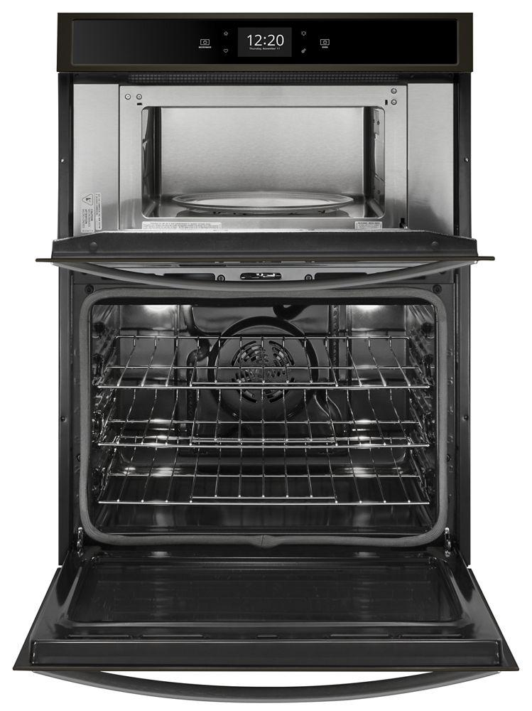 Whirlpool 27 Quot Microwave Wall Oven Combo With 6 4 Cu Ft
