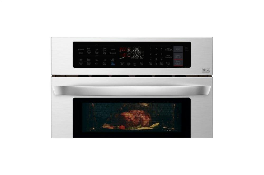 Lg 1 7 4 7 Cu Ft Smart Wi Fi Enabled Combination Double
