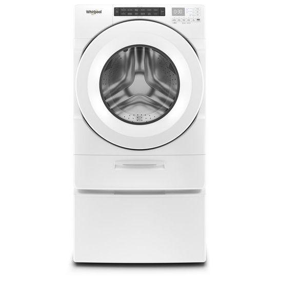 Whirlpool Wfw5620hw 27 Inch Front Load Washer With Steam