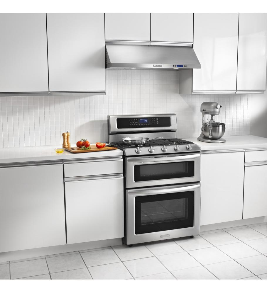 Kitchenaid Kgrs505xss 30 Quot Freestanding Gas Range With 5