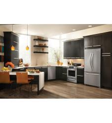 Kitchenaid Kbfs25ewms 24 8 Cu Ft French Door