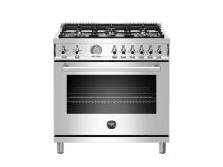 Brand: Bertazzoni, Model: PROF366GASXT, Color: Stainless Steel