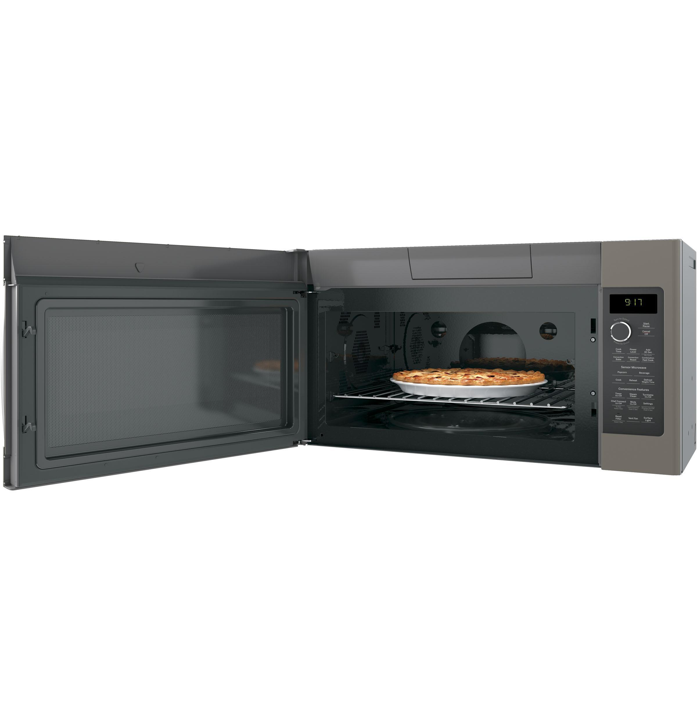 General Electric Ge Profile 1 7 Cu Ft Convection Over