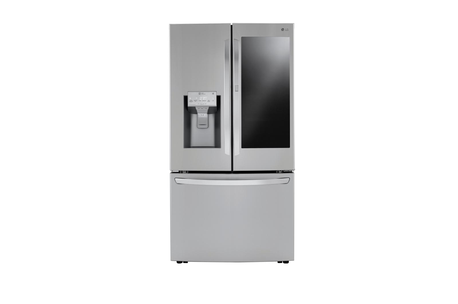 Lg Lrfvc2406d Counter Depth French Door Refrigerator With