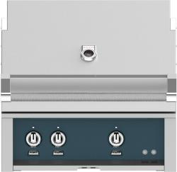 Brand: Hestan, Model: GABR30LPBK, Color: Liquid Propane, Pacific Fog Grey
