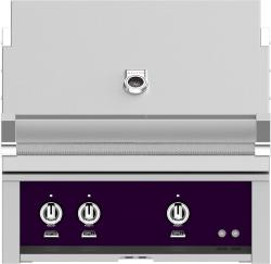Brand: Hestan, Model: GABR30LPBK, Color: Natural Gas, Lush Purple