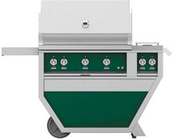 Brand: Hestan, Model: GABR36CX2LPBU, Color: Liquid Propane, Grove Green