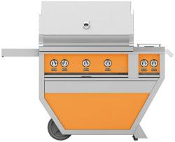 Brand: Hestan, Model: GABR36CX2LP, Color: Liquid Propane, Citra Orange