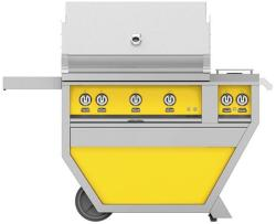 Brand: Hestan, Model: GABR36CX2LP, Color: Natural Gas, Sol Yellow