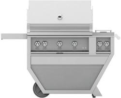 Brand: Hestan, Model: GABR36CX2LP, Color: Natural Gas, Stainless Steel
