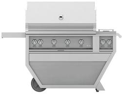Brand: Hestan, Model: GABR42CX2NGGG, Color: Liquid Propane, Stainless Steel