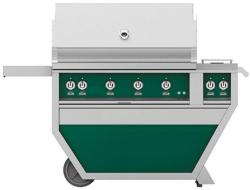 Brand: Hestan, Model: GABR42CX2NGBG, Color: Liquid Propane, Grove Green
