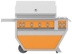 Brand: Hestan, Model: GABR42CX2NGBG, Color: Liquid Propane, Citra Orange