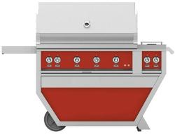 Brand: Hestan, Model: GABR42CX2NGBG, Color: Liquid Propane, Matador Red