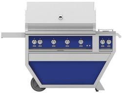 Brand: Hestan, Model: GABR42CX2NGBG, Color: Natural Gas, Prince Blue