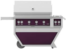 Brand: Hestan, Model: GABR42CX2NGGG, Color: Natural Gas, Lush Purple