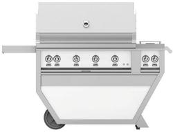 Brand: Hestan, Model: GABR42CX2NGGG, Color: Natural Gas, Froth White