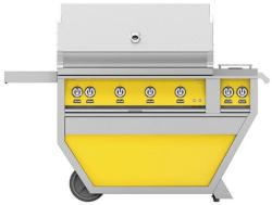 Brand: Hestan, Model: GABR42CX2NGBG, Color: Natural Gas, Sol Yellow