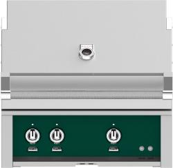 Brand: Hestan, Model: GMBR30NGBG, Color: Liquid Propane, Grove Green
