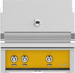 Brand: Hestan, Model: GMBR30NGBG, Color: Liquid Propane, Sol Yellow
