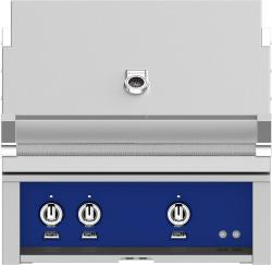 Brand: Hestan, Model: GMBR30NGBG, Color: Natural Gas, Prince Blue