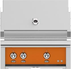 Brand: Hestan, Model: GMBR30NGBG, Color: Natural Gas, Citra Orange
