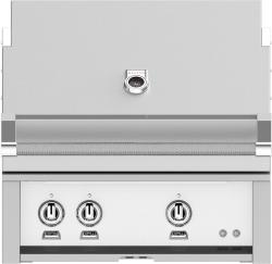 Brand: Hestan, Model: GMBR30NGBG, Color: Natural Gas, Froth White