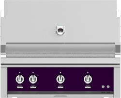 Brand: Hestan, Model: GMBR36LPRD, Color: Liquid Propane, Lush Purple