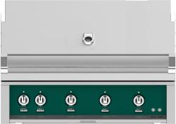 Brand: Hestan, Model: GMBR42NGBU, Color: Liquid Propane, Grove Green