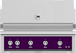 Brand: Hestan, Model: GMBR42NGBU, Color: Natural Gas, Lush Purple