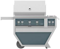 Brand: Hestan, Model: GSBR36CX2LPYW, Color: Liquid Propane, Pacific Fog Grey