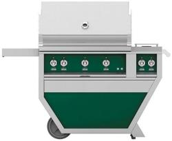 Brand: Hestan, Model: GSBR36CX2NGTQ, Color: Liquid Propane, Grove Green