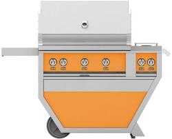 Brand: Hestan, Model: GSBR36CX2LPYW, Color: Liquid Propane, Citra Orange