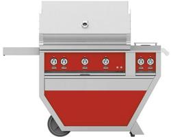 Brand: Hestan, Model: GSBR36CX2LPYW, Color: Liquid Propane, Matador Red