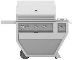 Brand: Hestan, Model: GSBR36CX2LPYW, Color: Natural Gas, Stainless Steel