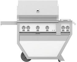 Brand: Hestan, Model: GSBR36CX2NGYW, Color: Natural Gas, Froth White