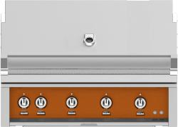 Brand: Hestan, Model: GSBR42LPTQ, Color: Natural Gas, Citra Orange