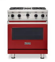 Brand: Viking, Model: VGIC53024BCB, Color: Apple Red, Natural Gas