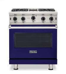 Brand: Viking, Model: VGIC53024BCB, Color: Cobalt Blue, Natural Gas