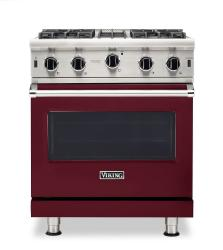 Brand: Viking, Model: VGIC53024BCB, Color: Burgundy, Liquid Propane