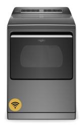 Brand: Whirlpool, Model: WED7120HC, Color: Chrome Shadow
