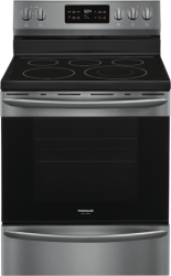 Brand: Frigidaire, Model: GCRE3038AD, Color: Black Stainless Steel