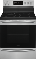 Brand: Frigidaire, Model: GCRE3038AD, Color: Stainless Steel
