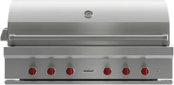 Brand: Wolf, Model: OG54LP, Fuel Type: Stainless Steel, Natural Gas