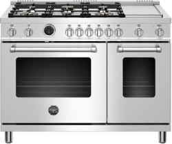 Brand: Bertazzoni, Model: MAST486GDFS, Color: Stainless Steel